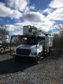 2001 Versalift VO-255 Insulated Aerial Device Aerial Bucket Trucks 46 ft - 65 ft